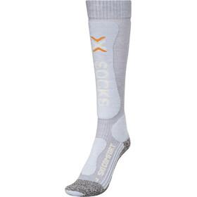 X-Socks Ski Comfort Supersoft Socken Damen pearl grey/ice blue
